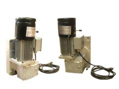 Electric motors for cranes