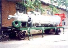 Machines and equipment for bitumen work