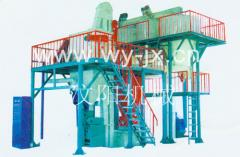 Equipment for the preparation of cement concrete
