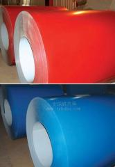 Sheet metal with polymeric coating
