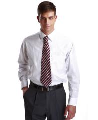 优雅修身长袖衬衫