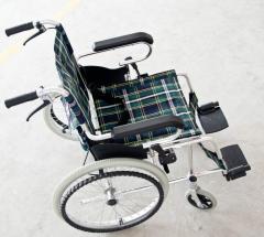 舒适康轮椅车70S 轻便铝合金轮椅车
