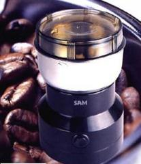 Domestic coffee grinders