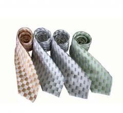 色织真丝领带
