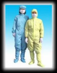 Special clothing is antistatic