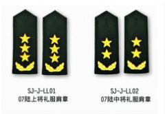 Military shoulder straps
