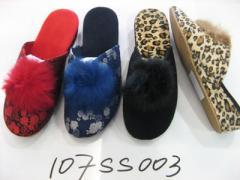 棉拖鞋 女款