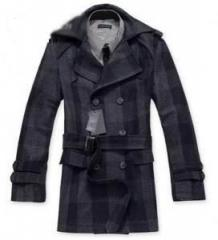 男式时尚毛呢大衣