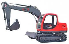 Crawler excavator NK80 / construction machinery