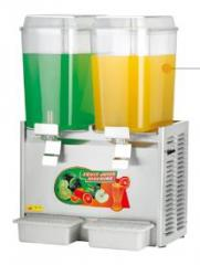Coolers of juice
