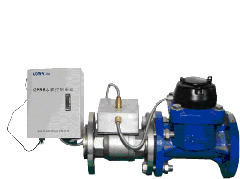 IC Card Prepayment Water Meter, AMR, GPRS Wireless