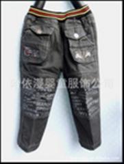 牛仔儿童裤子