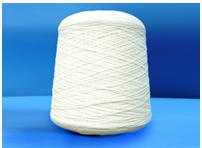 Half-woollen yarn