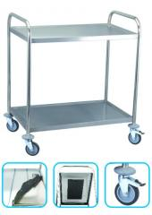 Two-tier Stainless Steel Trolley