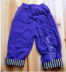 Trousers for nurseries