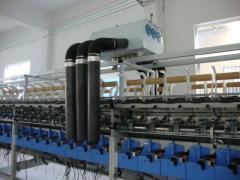 半自动抽气式转杯纺纱机
