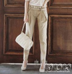 2011新品时尚韩版显瘦修腿OL休闲长裤