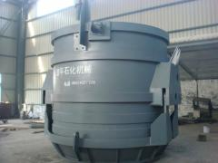 Buckets and containers with opening bottom