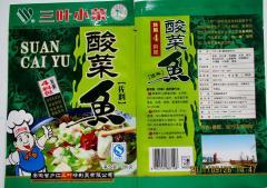 三叶小菜——酸菜鱼佐料280g4料包