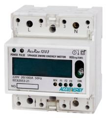Single-rate counters of the electric power