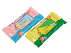 通用复合卫生湿巾10片袋装