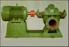 Pump with variable-speed electric engine