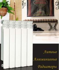 Water heater aluminum radiators UR1001-600