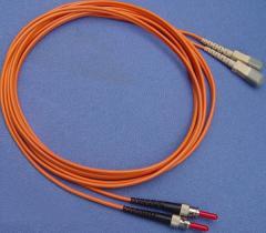 光纤跳线  SC/APC-SC/APC -MM- Simlex -pvc- 4m