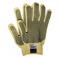 Kevlar Glove With 2-Sided PVC Dots