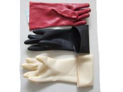 PVC and latex glove