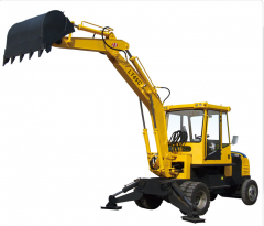 Mobile excavator