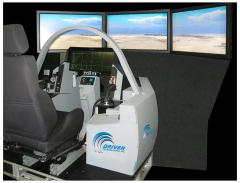 Simulators, simulators for training pilots of the