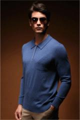 男子羊绒毛衣