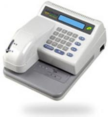Printers check and fiscal