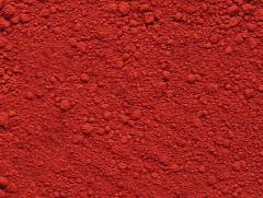 Pigment ferrioxide red