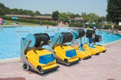 Cleaners for pools
