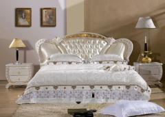 家具 软床 软体 真皮 皮床 布床 环保皮 3001