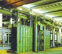 HQ 系列吊链式抛丸清理(强化)机