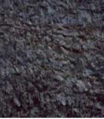 Bitumen-polymeric facing roofing materials