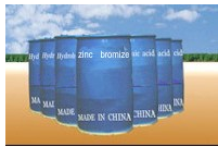 Bromides of zinc and calcium