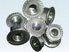 Hexagon flange nuts, DIN6923, ISO4161, Hex flange