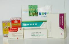 Embalaje de cartón para medicamentos