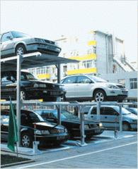 Garages, above-ground, multistage
