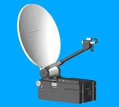 Satellite communication antennas