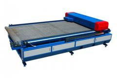 Equipment for cutting of sheet glass