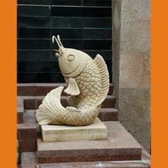 Statues, statuettes, pedestals