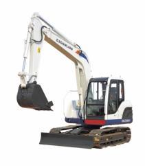 Mini excavators < 7t