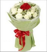 爱在心底 爱人 花束 红玫瑰 爱情 生日 白玫瑰