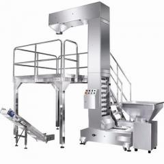 膨化食品全自动包装系统—链斗式