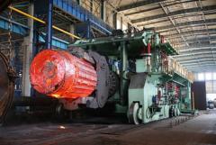 100 ton rail bound forging manipulator